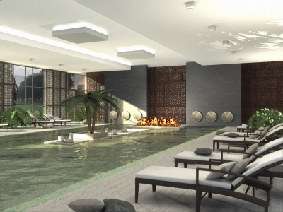 Pool - Kempinski Spa, China